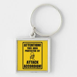 Chaveiro Acordeão do ataque