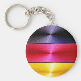 Chaveiro alemão da bandeira