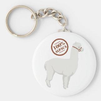 Chaveiro Alpaca 100%