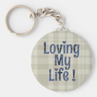 Chaveiro Amando meu anel da corrente chave da vida