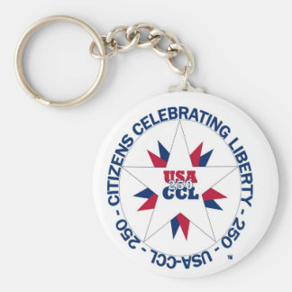 Chaveiro América 250th ou aniversário de CCL em 2026
