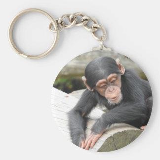 Chaveiro Anel chave do chimpanzé do bebê