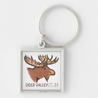 Chaveiro artístico da lembrança dos alces de Deer