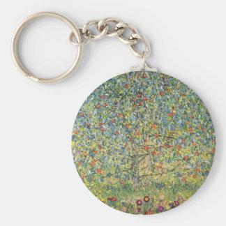 Chaveiro Árvore de Apple por Gustavo Klimt, arte Nouveau do