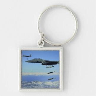 Chaveiro Aviões de Eagle da greve da força aérea de