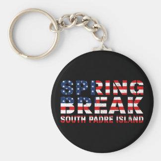Chaveiro Bandeira sul dos E.U. da ilha do padre da ruptura