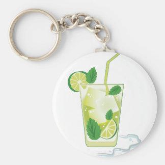 Chaveiro Bebida da hortelã & do limão