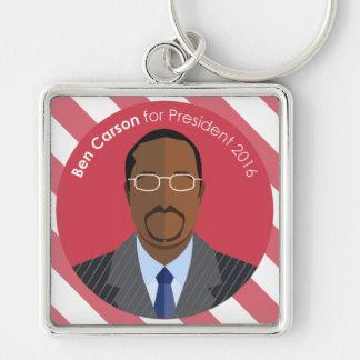 Chaveiro Ben Carson 2016 para a corrente chave feita sob