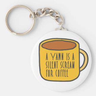 Chaveiro Café engraçado