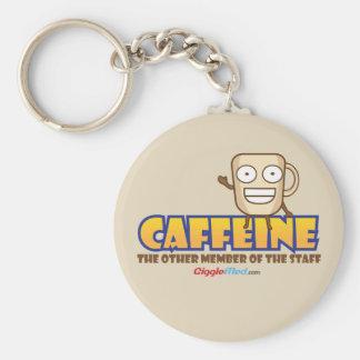 Chaveiro Cafeína, o outro membro dos funcionarios