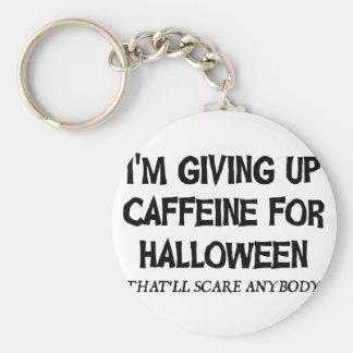 Chaveiro Cafeína para o Dia das Bruxas