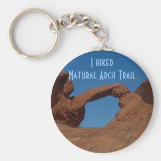 Chaveiro Caminhando a fuga natural do arco
