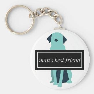 Chaveiro Cão do melhor amigo do homem