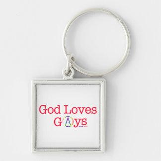 Chaveiro Citações ateus do símbolo do arco-íris dos gay dos