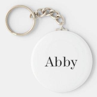 Chaveiro conhecido de Abby