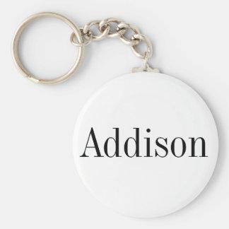 Chaveiro conhecido de Addison