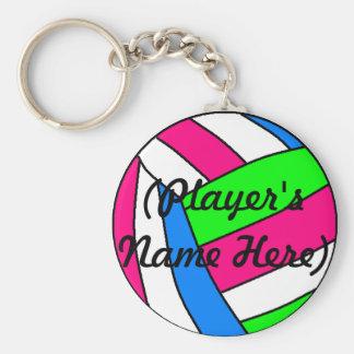 Chaveiro conhecido feito sob encomenda do voleibol