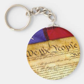 Chaveiro Constituição 4o julho da independência do 4 de