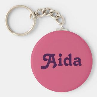 Chaveiro Corrente chave Aida