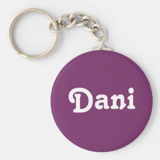 Chaveiro Corrente chave Dani