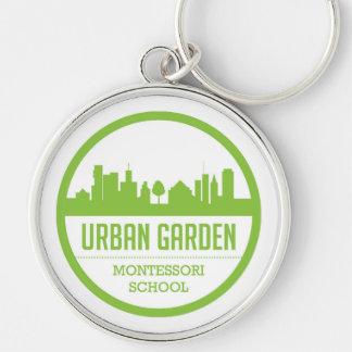 Chaveiro Corrente chave de Montessori do jardim urbano