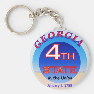 Chaveiro Corrente chave do 4o estado de Geórgia