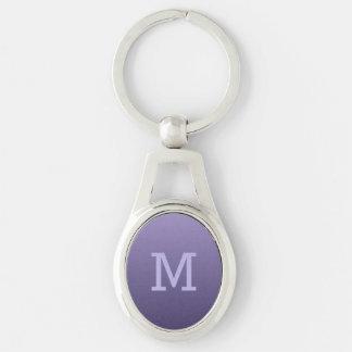 Chaveiro Corrente chave do monograma feito sob encomenda