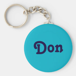 Chaveiro Corrente chave Don