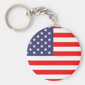 Chaveiro da bandeira americana