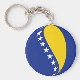 Chaveiro da bandeira de Bósnia - de Herzegovina Fi