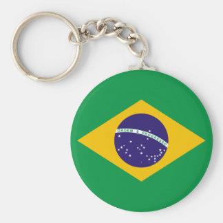 Chaveiro da bandeira de Brasil