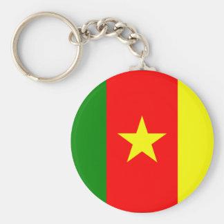 Chaveiro da bandeira de República dos Camarões