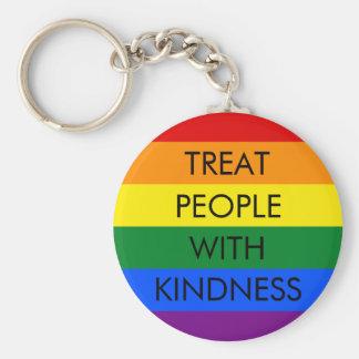 Chaveiro da bondade do arco-íris
