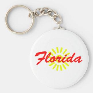 Chaveiro da lembrança da luz do sol de Florida