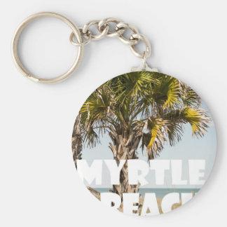 Chaveiro ` das férias da palmeira de Myrtle Beach South