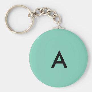 chaveiro de letra A