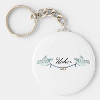 Chaveiro de Usher do casamento