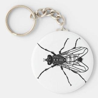 Chaveiro Desenho da mosca - o inseto, praga, voa