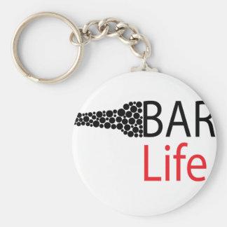 Chaveiro Desgaste da vida do bar
