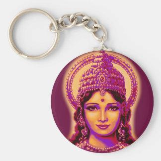 Chaveiro Deusa da fortuna - Lakshmi