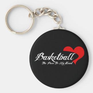 Chaveiro do amor do basquetebol