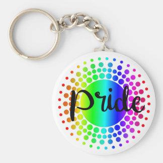 Chaveiro do arco-íris do orgulho