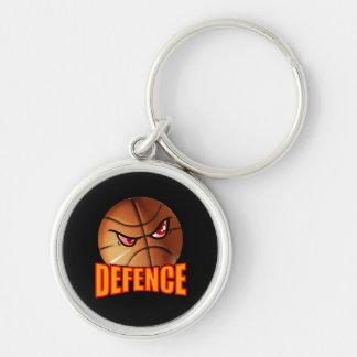 Chaveiro do basquetebol da defesa