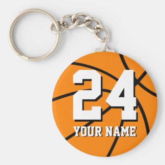 Chaveiro do basquetebol do número 24   Personaliza