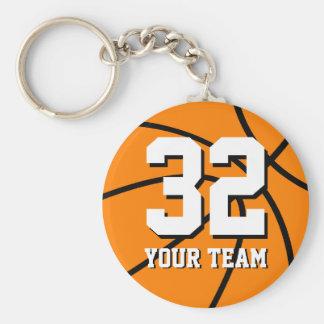 Chaveiro do basquetebol do número 32   Personaliza