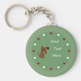 Chaveiro do cão & dos corações