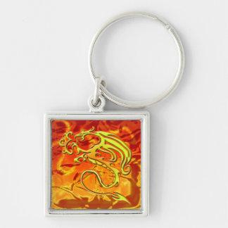 Chaveiro do dragão do fogo