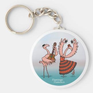 Chaveiro do Flamenco do flamingo