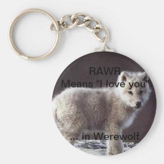 Chaveiro do lobo de RAWR