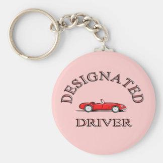 Chaveiro do motorista designado